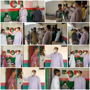 BHU Shadoband team screened 27 Prisoners at Levies Tanna Gwadar.