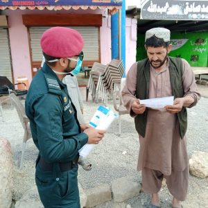 Awareness  campaign by rescue 1122 mobile teams in Quetta City