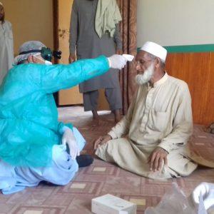 Today screening of Tablighi jamait people by Mobile team Medical Officers Dr Hafeeullah SMO BHU Jangal.