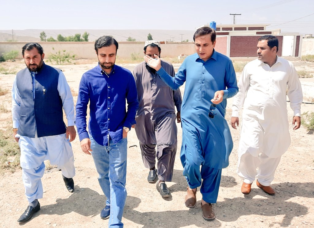 Visit of CEO-PPHI to District Duki: